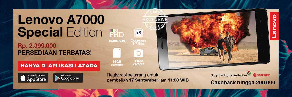 Flash Sale Lenovo A7000 Special Edition Lagi