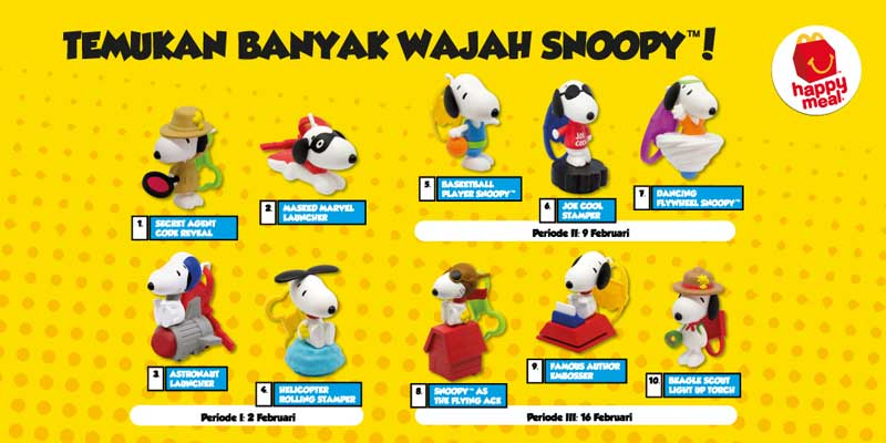 Happy Meal Snoopy