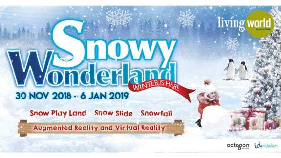Main Salju di Snowy Wonderland