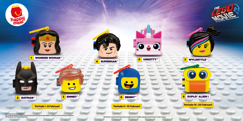 Happy Meal The Lego Movie 2